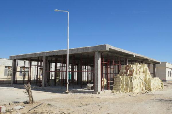 احداث بخش icu بیمارستان نبی اکرم خنج با 330مترمربع زیربنا توسط خیر بزرگوار آقای ایرج منصوری